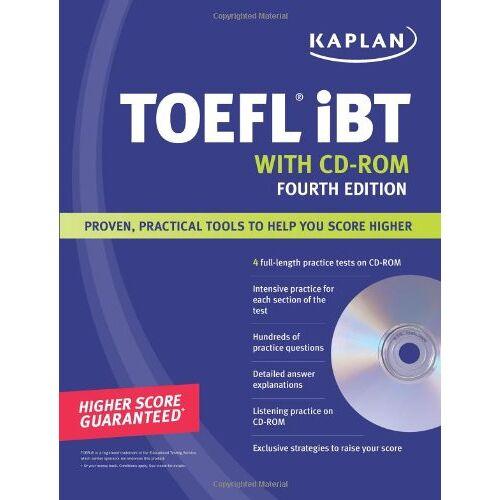 Kaplan - Kaplan TOEFL iBT with CD-ROM (Kaplan TOEFL IBT (w/CD)) - Preis vom 14.06.2021 04:47:09 h