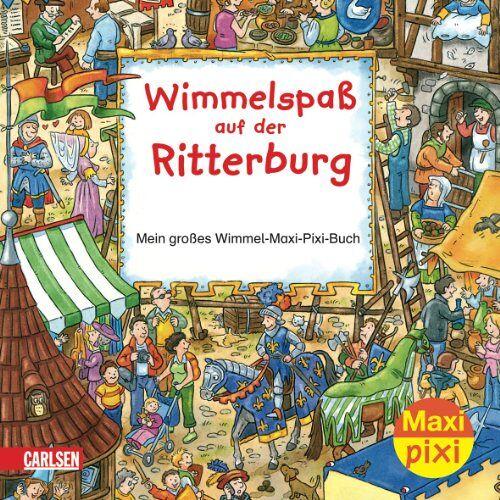 - Maxi-Pixi Nr. 5: Wimmelspaß auf der Ritterburg: Mein großes Wimmel-Maxi-Pixi-Buch - Preis vom 15.09.2021 04:53:31 h