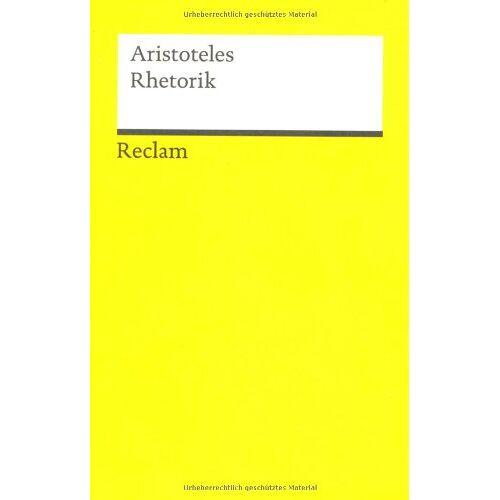 Aristoteles - Rhetorik - Preis vom 29.07.2021 04:48:49 h