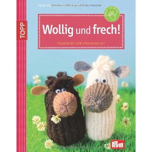 Stefanie Thomas - Wollig und frech! Figuren mit dem Strickring - Preis vom 16.06.2021 04:47:02 h