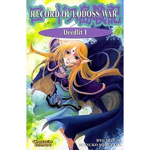 Ryo Mizuno - Deedlit 1 (Record of Lodoss War Taschenbuch) - Preis vom 22.06.2021 04:48:15 h