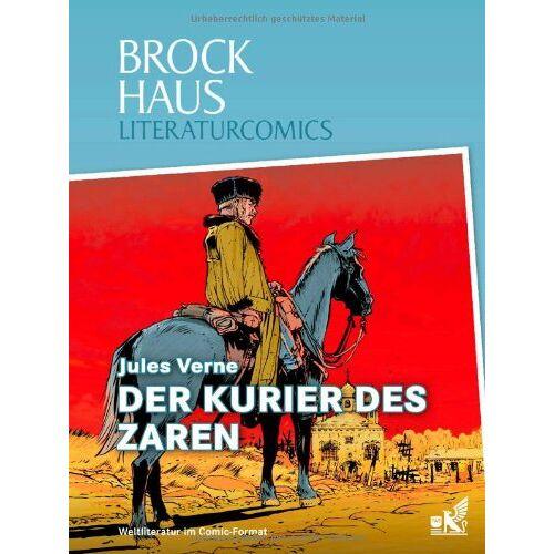 - Brockhaus Literaturcomics Der Kurier des Zaren: Weltliteratur im Comic-Format - Preis vom 24.07.2021 04:46:39 h