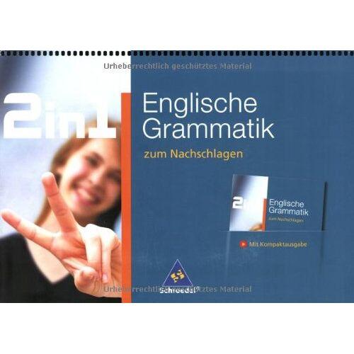 Sabina Piatzer - 2 in 1 zum Nachschlagen: 2 in 1: Englische Grammatik zum Nachschlagen. - Preis vom 15.06.2021 04:47:52 h