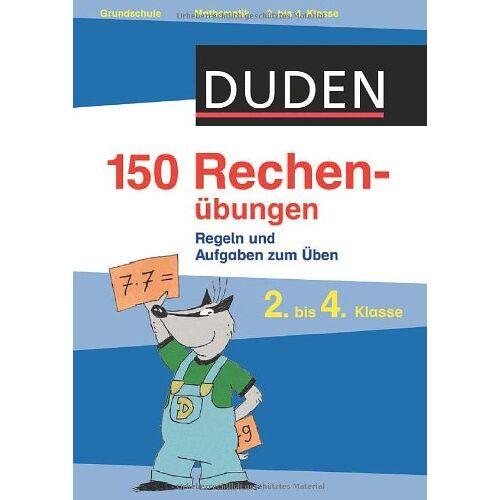 - Duden - 150 Rechenübungen, 2. bis 4. Klasse - Preis vom 09.06.2021 04:47:15 h