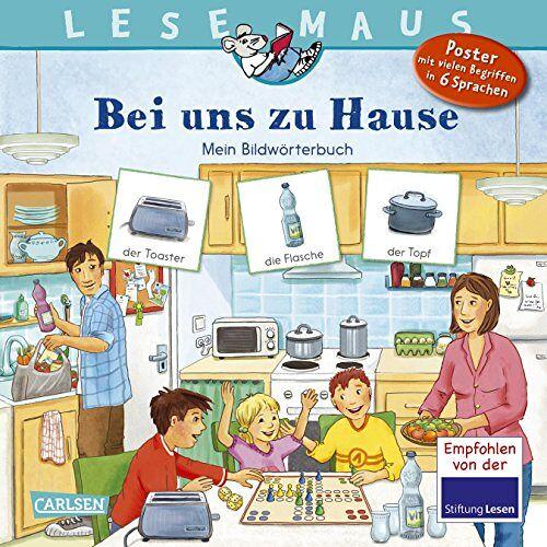 Annette Neubauer - LESEMAUS 203: Bei uns zu Hause: Mein Bildwörterbuch - Preis vom 03.08.2021 04:50:31 h