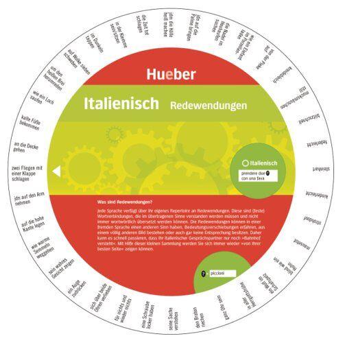 Hueber Verlag GmbH & Co. KG - Italienisch - Redewendungen: Wheel - Italienisch - Redewendungen - Preis vom 11.06.2021 04:46:58 h