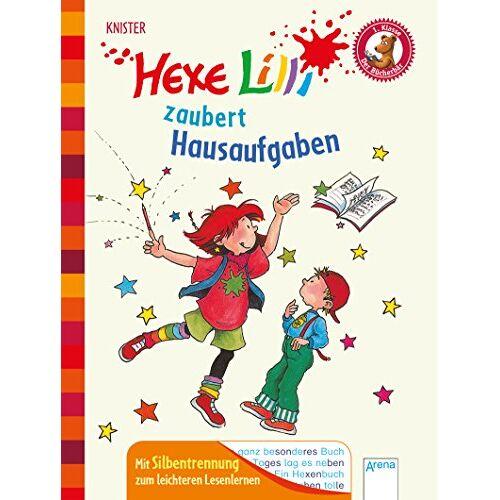 Knister - Hexe Lilli zaubert Hausaufgaben: Der Bücherbär. Ausgabe mit Silbentrennung - Preis vom 15.06.2021 04:47:52 h