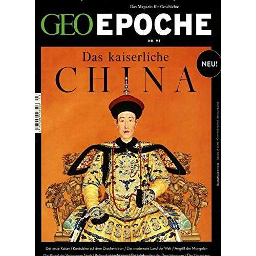 Michael Schaper - GEO Epoche / GEO Epoche mit DVD 93/2018 - Das kaiserliche China: DVD: Die Stadt der Kaiser - Preis vom 14.06.2021 04:47:09 h