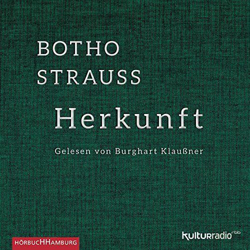 Botho Strauß - Herkunft: 3 CDs - Preis vom 13.06.2021 04:45:58 h