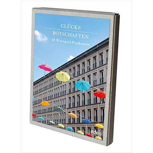 - Glücksbotschaften - Postkartenbox: 18 Wortspiel-Postkarten - Preis vom 25.07.2021 04:48:18 h