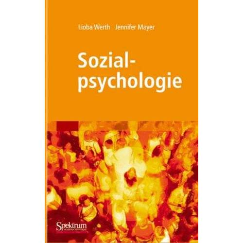 Lioba Werth - Sozialpsychologie (Sav Psychologie) - Preis vom 29.07.2021 04:48:49 h
