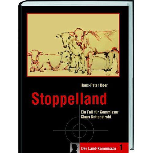 Hans-Peter Boer - Stoppelland: Ein Fall für Kommissar Klaus Kattenstroht - Preis vom 15.06.2021 04:47:52 h