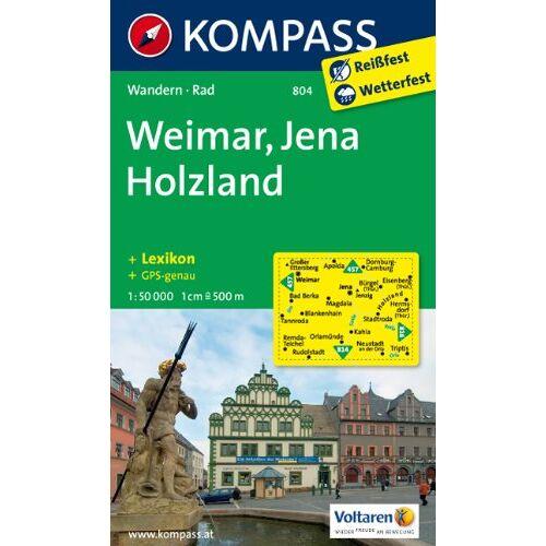 - Weimar/ Jena/ Holzland: Wanderkarte mit Kurzführer und Radwegen. GPS-genau. 1:50000 - Preis vom 17.05.2021 04:44:08 h