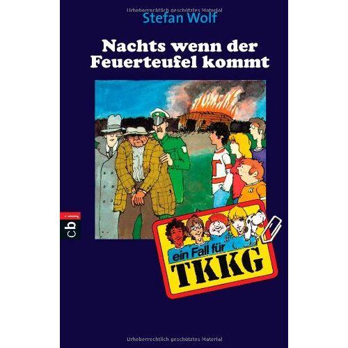 Stefan Wolf - TKKG 12/Nachts, wenn der Feuerteufel kommt. - Preis vom 11.06.2021 04:46:58 h