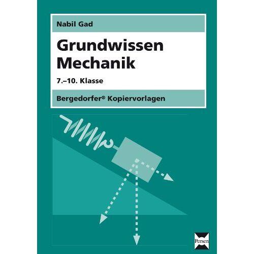 Nabil Gad - Grundwissen Mechanik - Preis vom 21.06.2021 04:48:19 h