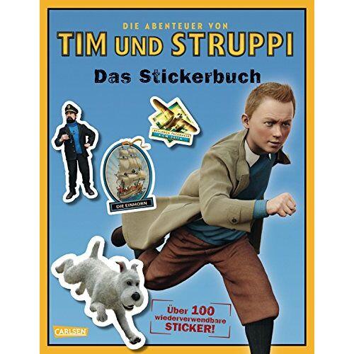 Hergé - Tim & Struppi: Stickerbuch: Die Abenteuer von Tim und Struppi - Preis vom 21.06.2021 04:48:19 h