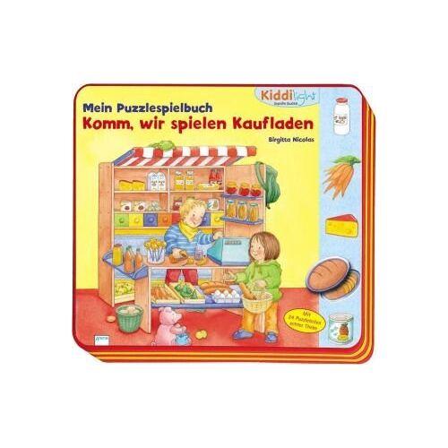 Bärbel MÃ1/4ller - Mein PuzzleSpielBuch - Komm, wir spielen Kaufladen! - Preis vom 03.08.2021 04:50:31 h