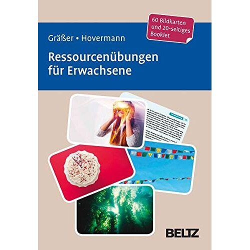 Melanie Gräßer - Ressourcenübungen für Erwachsene: 60 Bildkarten mit 20-seitigem Booklet in stabiler Box, Kartenformat 9,8 x 14,3 cm. (Beltz Therapiekarten) - Preis vom 23.07.2021 04:48:01 h