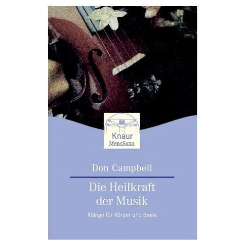 Campbell, Don G. - Die Heilkraft der Musik - Preis vom 16.10.2021 04:56:05 h