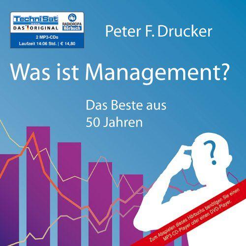Drucker, Peter F. - Was ist Management?: Das Beste aus 50 Jahren (2 MP3 CDs) - Preis vom 14.06.2021 04:47:09 h