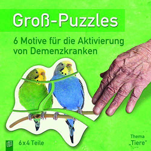 Redaktionsteam Verlag an der Ruhr - Groß-Puzzles: Thema Tiere: 6 Motive für die Aktivierung von Demenzkranken - Preis vom 23.07.2021 04:48:01 h