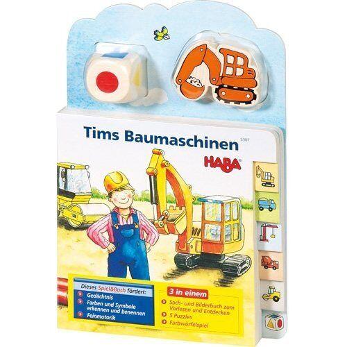 Karolin Borker - Tim's Baumaschinen (Rahmenpuzzle), m. Holzwürfel u. -figur - Preis vom 25.07.2021 04:48:18 h