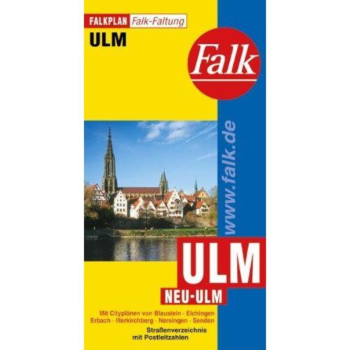 Ostfildern Falk Verlag - Falkplan Falk-Faltung Ulm / Neu-Ulm - Preis vom 03.05.2021 04:57:00 h