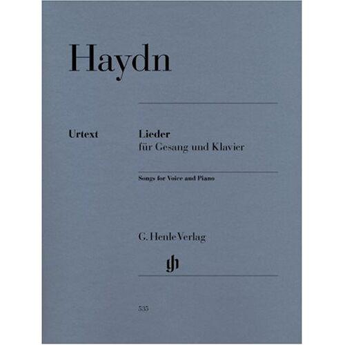 Joseph Haydn - Lieder. Gesang, Klavier - Preis vom 16.05.2021 04:43:40 h