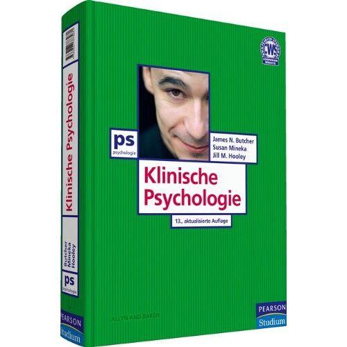 Butcher, James N. - Klinische Psychologie - Diagnose - Störung - Therapie in integrativer Darstellung (Pearson Studium - Psychologie) - Preis vom 29.07.2021 04:48:49 h