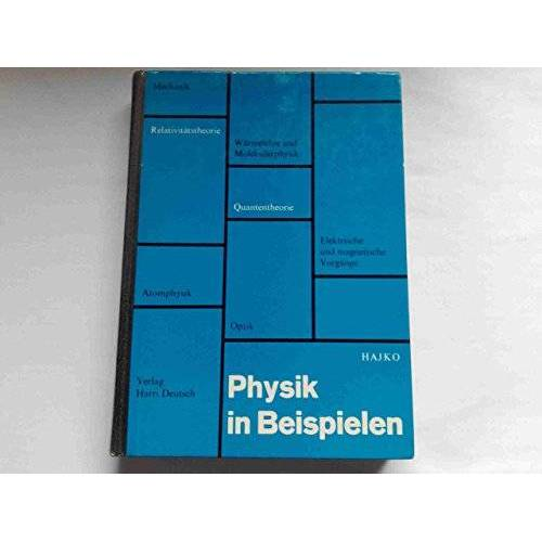 v. Hajko - Physik in Beispielen - Preis vom 09.06.2021 04:47:15 h