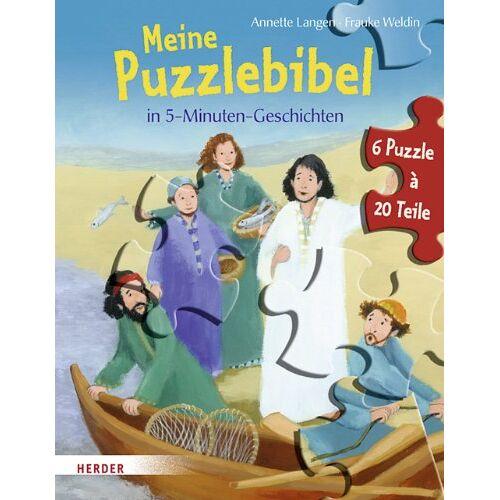 Annette Langen - Meine Puzzlebibel in 5-Minuten-Geschichten - Preis vom 15.06.2021 04:47:52 h