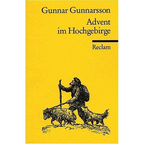 Gunnar Gunnarsson - Advent im Hochgebirge - Preis vom 18.06.2021 04:47:54 h