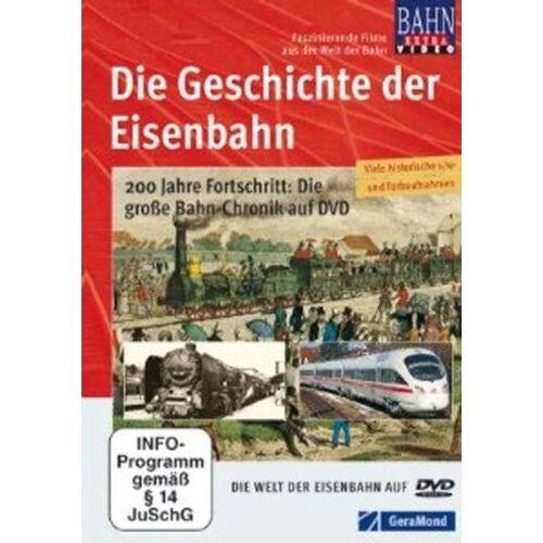 NN - DVD Die Geschichte der Eisenbahn - Preis vom 02.08.2021 04:48:42 h