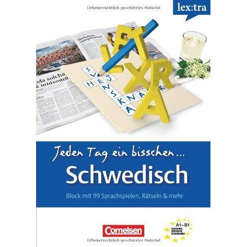 Klara Bertils - Lextra - Schwedisch - Jeden Tag ein bisschen Schwedisch: A1-B1 - Selbstlernbuch - Preis vom 26.07.2021 04:48:14 h