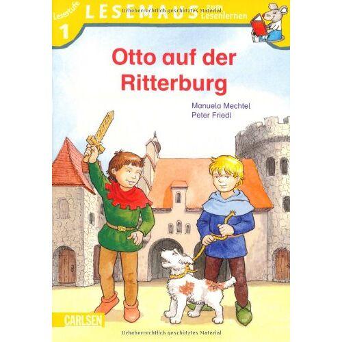 Manuela Mechtel - LESEMAUS zum Lesenlernen Stufe 1, Band 303: Otto auf der Ritterburg: Lesemaus zum Lesenlernen. Lesestufe 1 - Preis vom 02.08.2021 04:48:42 h