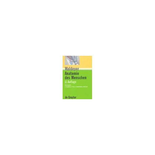 Anton Waldeyer - Anton Waldeyer; Anton Mayet: Anatomie des Menschen: Allgemeine Anatomie, Rücken, Bauch, Becken, Bein - Preis vom 09.06.2021 04:47:15 h