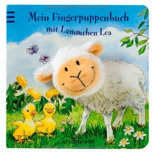 Andrea Gerlich - Mein Fingerpuppenbuch mit Lämmchen Lea (Fingerpuppenbücher) - Preis vom 20.06.2021 04:47:58 h