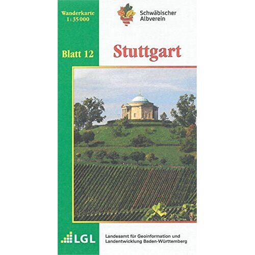 Schwäbischer Albverein e.V. - Stuttgart: Wanderkarte 1:35.000 (Karte des Schwäbischen Albvereins, Band 12) - Preis vom 18.05.2021 04:45:01 h