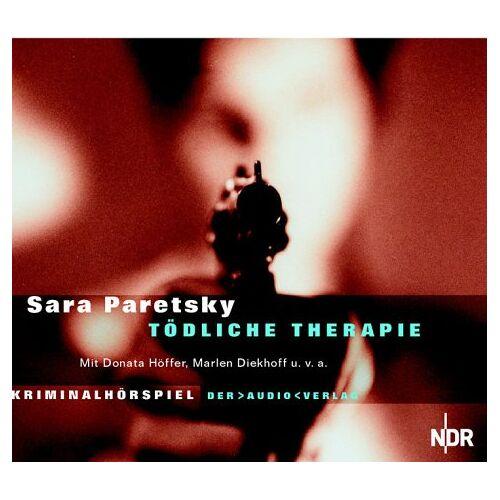 Sara Paretsky - Tödliche Therapie. CD. . Kriminalhörspiel - Preis vom 12.10.2021 04:55:55 h