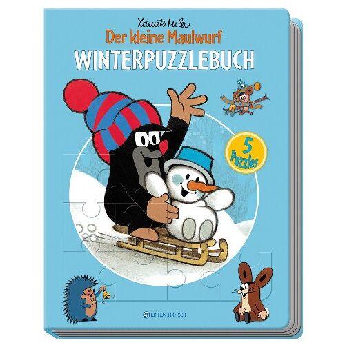 Edition Trötsch - Winterpuzzlebuch - Der kleine Maulwurf: 5 Puzzles - Preis vom 16.06.2021 04:47:02 h