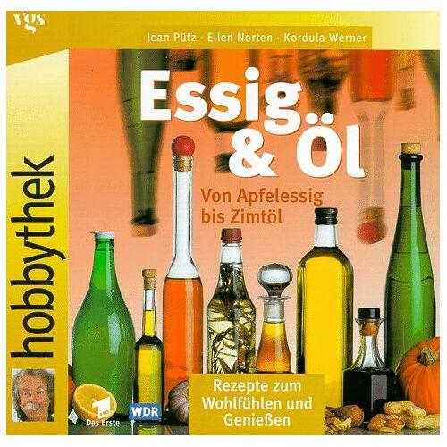 Jean Pütz - Hobbythek Essig & Öl. Von Apfelessig bis Zimtöl: Rezepte zum Wohlfühlen und Genießen - Preis vom 23.07.2021 04:48:01 h