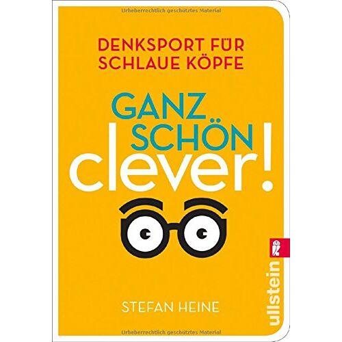 Stefan Heine - Ganz schön clever! (3): Denksport für schlaue Köpfe - Preis vom 16.06.2021 04:47:02 h