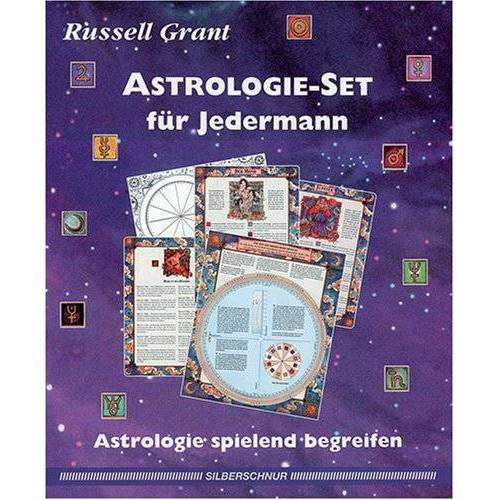 Russell Grant - Astrologie- Set für Jedermann. Astrologie spielend begreifen - Preis vom 15.09.2021 04:53:31 h