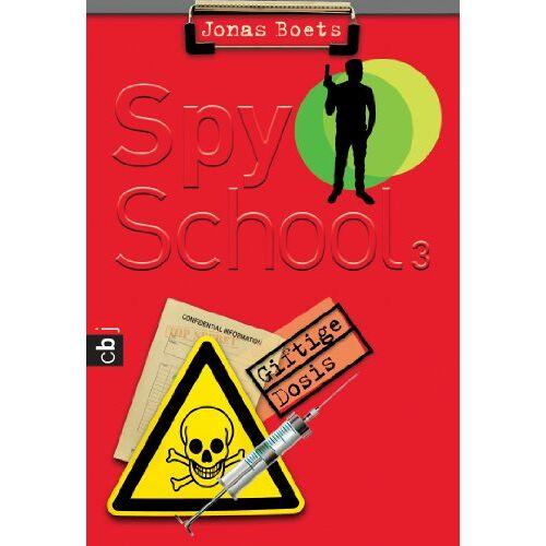 Jonas Boets - Spy School - Giftige Dosis: Band 3 - Preis vom 09.06.2021 04:47:15 h