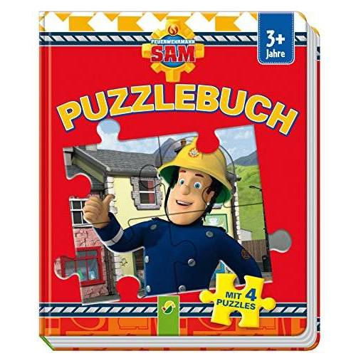 - Puzzlebuch Feuerwehrmann Sam: Mit 4 Puzzles - Preis vom 11.10.2021 04:51:43 h