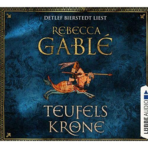 Rebecca Gablé - Teufelskrone: Teil 6 der Waringham-Reihe. (Waringham Saga, Band 6) - Preis vom 21.06.2021 04:48:19 h