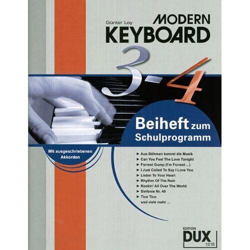 Günter Loy - Modern Keyboard: Beiheft 3-4 zum Schulprogramm - Preis vom 13.06.2021 04:45:58 h