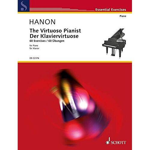 - The Virtuoso Pianist: 60 Exercises. Klavier. (Essential Exercises) - Preis vom 18.06.2021 04:47:54 h