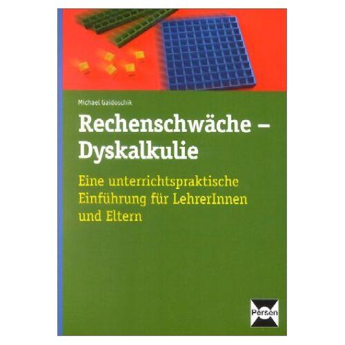 Michael Gaidoschik - Rechenschwäche - Dyskalkulie - Preis vom 08.09.2021 04:53:49 h