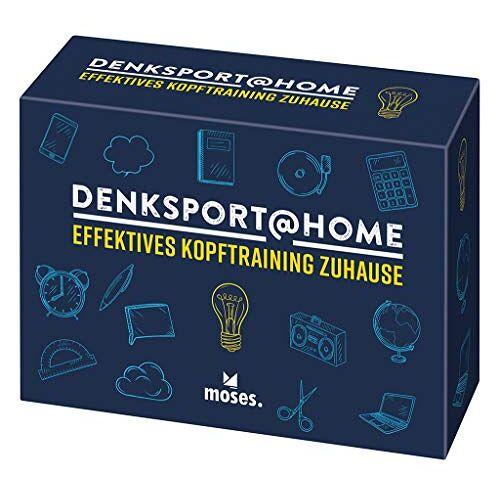 Oliver Domzalski - Denksport at home   Effektives Kopftraining für Zuhause   75 spielerische Denksportaufgaben - Preis vom 16.06.2021 04:47:02 h